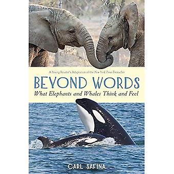 Bortom ord: vad elefanter och valar tänka och känna