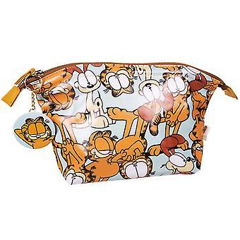 Garfield en de tas van de zak met spiegel