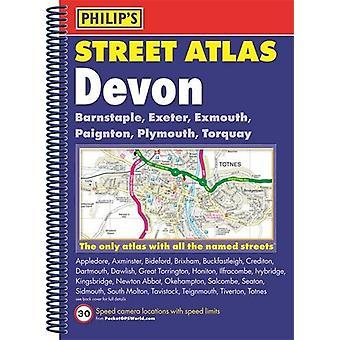Philip es Street Atlas Devon-9781849074308 Buch