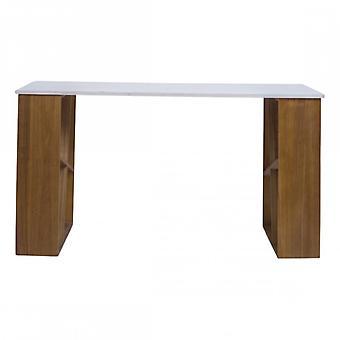 Rebecca Furniture Writing desk wood white modern Studio House
