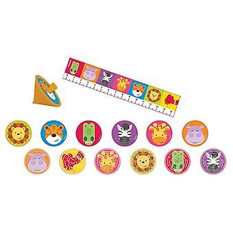 Dschungel Tiere Party Fun Set Mitbringsel Spielzeug 24 Teile Safari Abenteuer Kindergeburtstag