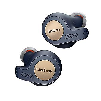 Jabra Elite Active 65t True Wireless Bluetooth Sports Earbuds and Charging Case with Alexa Built-In - Copper Blue