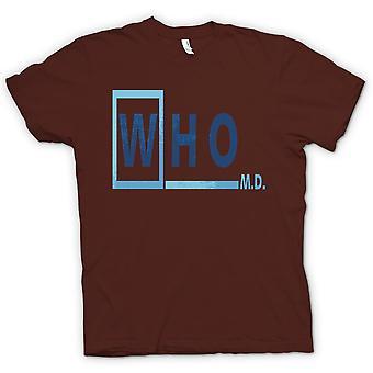 Mens T-shirt - Who M D