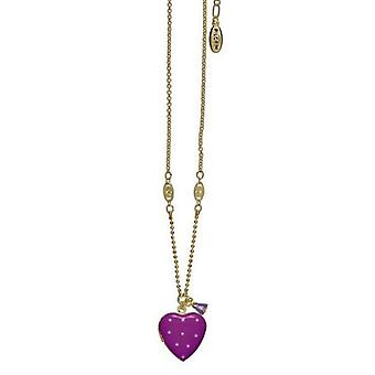 Pilgrim Ladies´ necklace happy hearts purple/gold (526601)