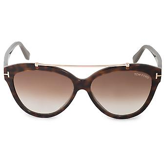 Tom Ford Livia FT0518 53F 58 Cat Eye Sonnenbrille