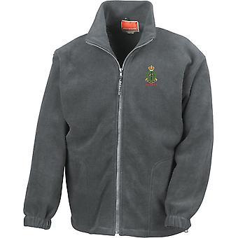 Real Ejército Médico Veterano - Chaqueta de Fleece Peso Pesado bordado del Ejército Británico con Licencia