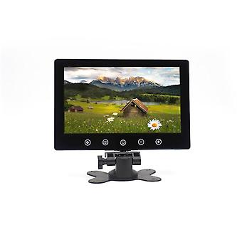 Monitor independiente del coche - pantalla de 9 pulgadas, modo de visualización 16:9, ntsc/pal, marco de montaje del reposacabezas, tecla táctil