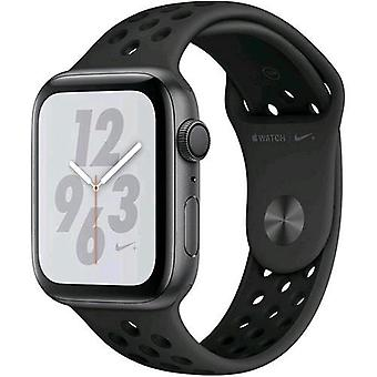 Apple watch nike + series 4 gps case 44mm aluminum grey sidereal and strap nike sport anthracite/black
