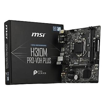 Carte mère Gaming MSI H310M PRO-VDH PLUS mATX LGA1151