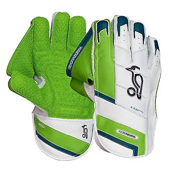 Kookaburra 2019 1100 Adults Cricket Wicket Keeping Keeper Gloves White/Green