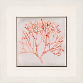 Watercolor coral iv coastal style by paragon
