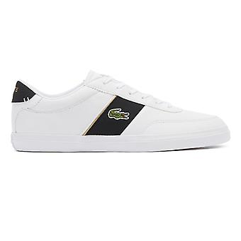 Lacoste Court-Master 319 6 Mens White / Black Trainers