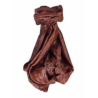 Mens Jamawar Premium Silk Scarf Pattern 3299 by Pashmina & Silk