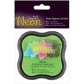 Papermania Neon Pigment Ink Pad-Green PM550104