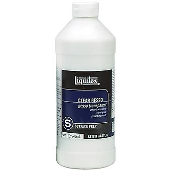 Liquitex Acrylic Clear Gesso Surface Prep 32 Ounces 7632