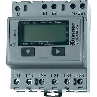 Electricity meter (3-phase) digital 65 A MID-approved: No Finder 7E.46.8.400.0022