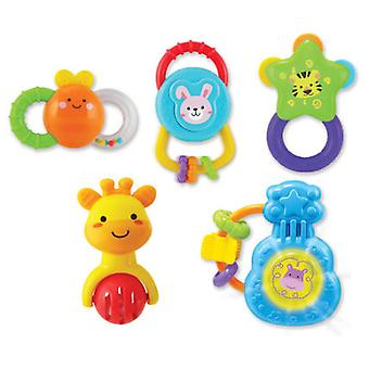 WinFun September 5 Musical Rattles (Toys , Preschool , Babies , Early Childhood Toys)