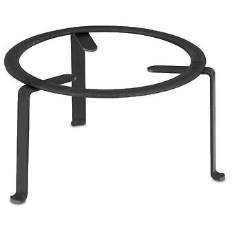 Comgas Round wrought iron stand Ø 30 cm. (Garden , Barbecues , Cooking tools)