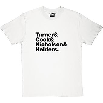 Arctic Monkeys Line-Up Men's T-Shirt