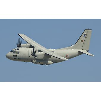 A Bulgarian Air Force C-27J Spartan in flight over Bulgaria Poster Print