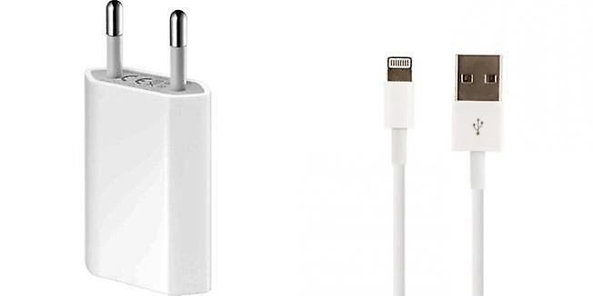 Bundle2 Apple blister MD813ZM USB A1400 power adapter, MD818ZM/A lightning charge cable