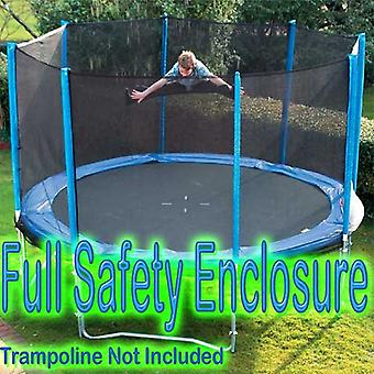 8ft Enclosure for Trampoline _ Enclosure Only