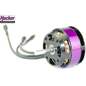 Model aircraft brushless motor Hacker A30-22 S V4 kV (RPM per volt): 1440 Turns: 22