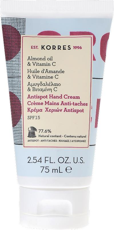 Korres Antispot Almond Oil & Vitamin C Hand Cream