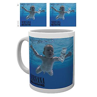 Caneca de Nevermind do Nirvana