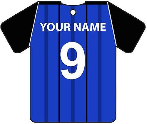 Personalised Rochdale Football Shirt Car Air Freshener