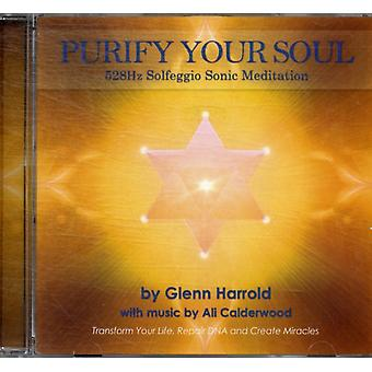 528Hz Solfeggio Meditation. (Audio CD) by Harrold Glenn Calderwood Ali