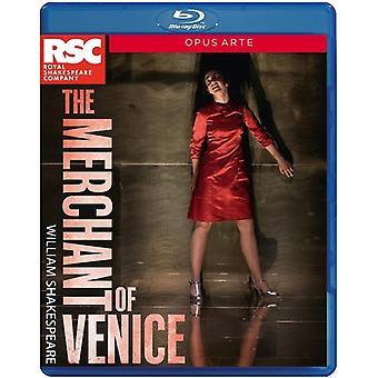 Köpmannen i Venedig [Blu-ray] USA import