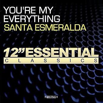 Santa Esmeralda - eres mi importación de USA todo [CD]