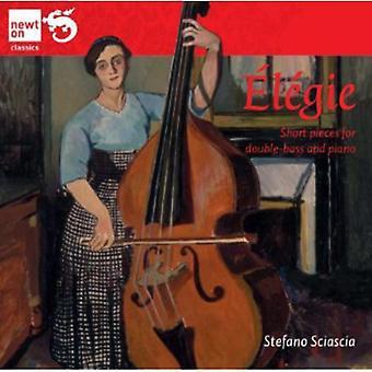 Elegier - L Gie: Korte stykker for kontrabas og klaver [CD] USA import