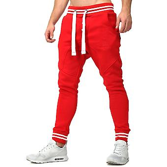Akito Tanaka sweatpants STRIPE Red