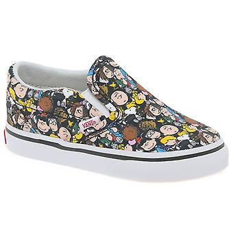 Vans Peanuts The Gang Kids Slip On Toddler Canvas Shoes
