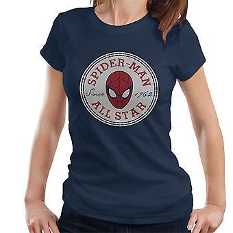 Spiderman Converse All Star Damen T-Shirt