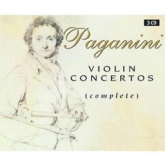 N. Paganini - Paganini: Concertos pour violon (complet) [CD] USA import