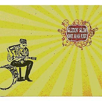 Slidin' Slim - én mand Riot [CD] USA import