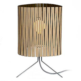 Graypants Leland Black Kerf Table Lamp