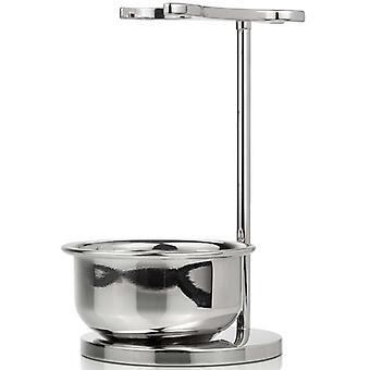 Mondial 1908 Luxury Razor & Brush Shaving Stand With Bowl