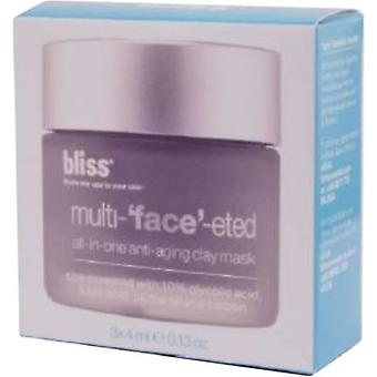 Bliss Multi-'Gesicht' Eted Clay Mask