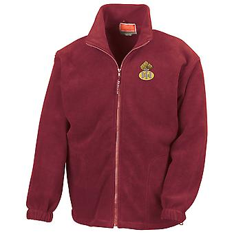 The Royal Highland Fusiliers Embroidered Logo - Official British Army Full Zip Fleece