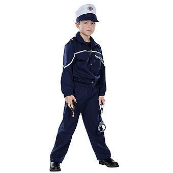 Polis barn kostym unga Bill COP Carnival Carnival