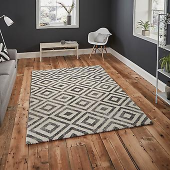 Elegant Rugs 4893 In Grey And White