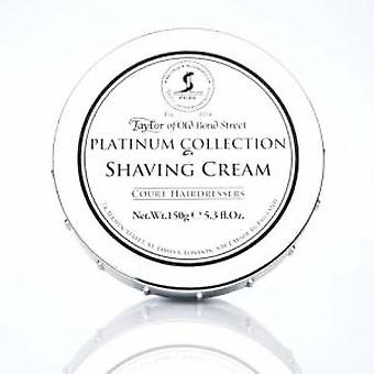 Taylors of Old Bond Street Platinum Collection Shaving Cream 150g