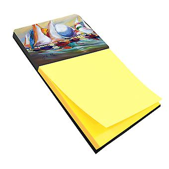 Sailboat Race in Dauphin Island Sticky Note Holder