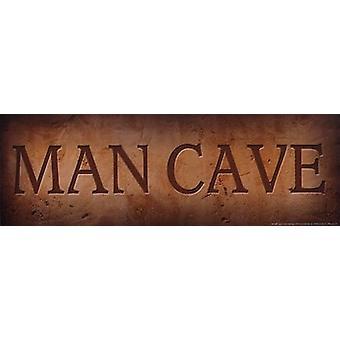 Grotte de l'homme Poster Print par John Jones (18 x 6)