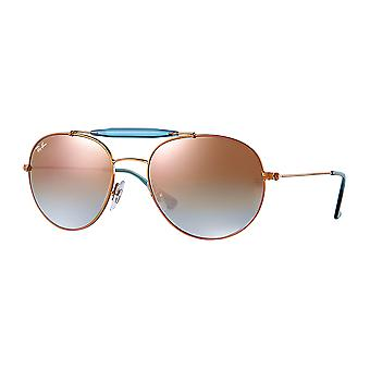 Ray - Ban RB3540 Large Bronze/blue mirrored copper