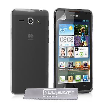 Yousave accesorios Huawei Ascend Y530 estuche - Crystal Clear
